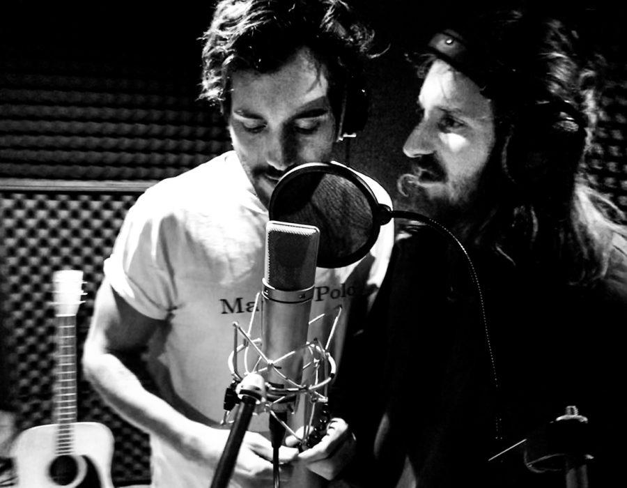 Amistat Music single recording 2019 at Studio X Berlin