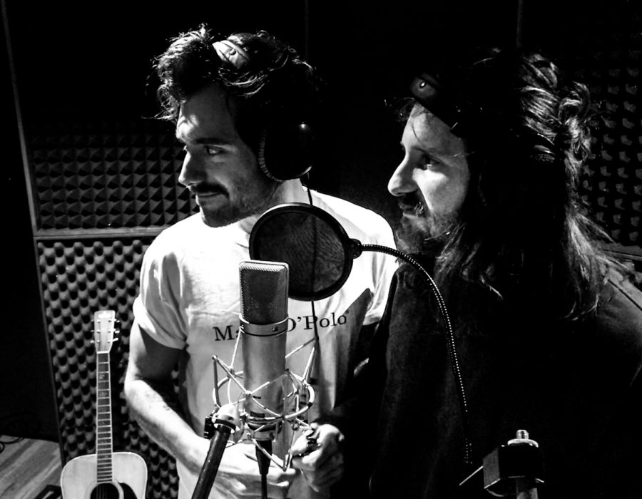 Amistat Music single recording with Dirk Feistel