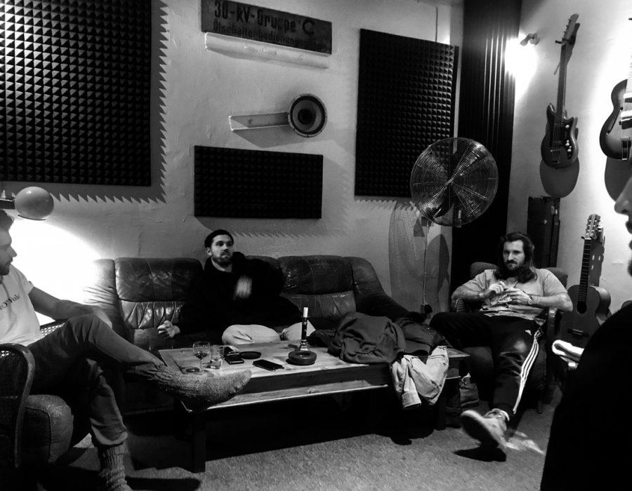 2019 Amistat Music single recording at Studio X Berlin